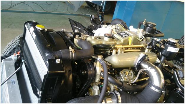 động cơ isuzu của jac 1.49 tấn JAC 1.49 TẤN – HFC1030K3