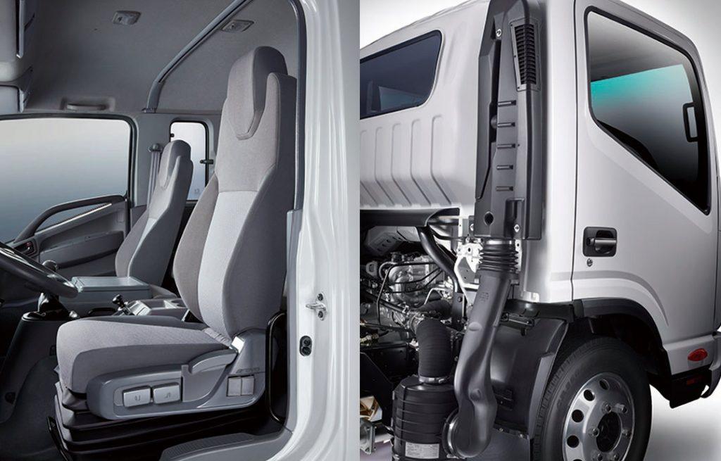 kết cấu cabin của xe tải jac 3.45 tấn