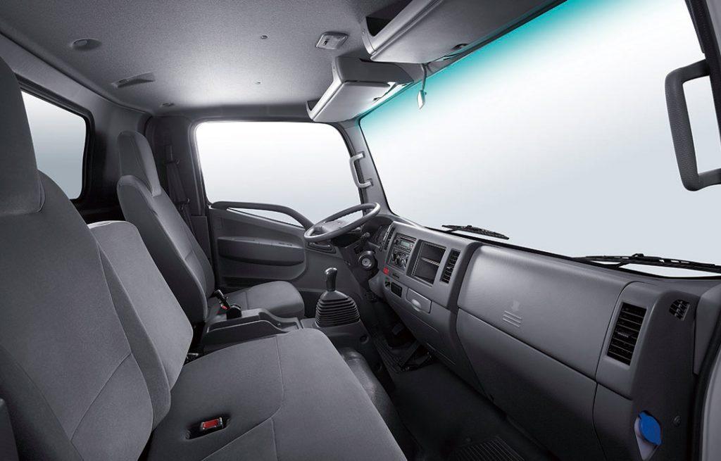nội thất xe tải jac 3.45 tấn