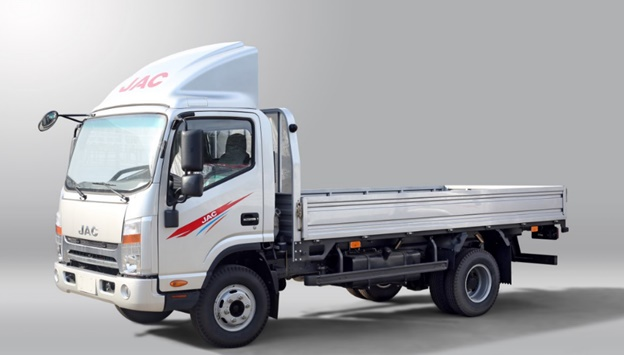 xe tải jac 3.45 tấn thùng lửng
