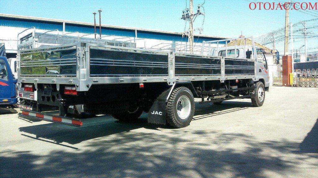 xe tải jac 8.45 tấn thùng lửng