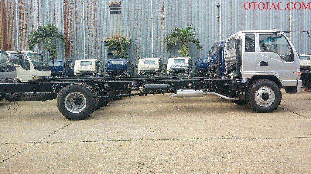 chassi xe tải jac 7.25 tấn cứng cáp