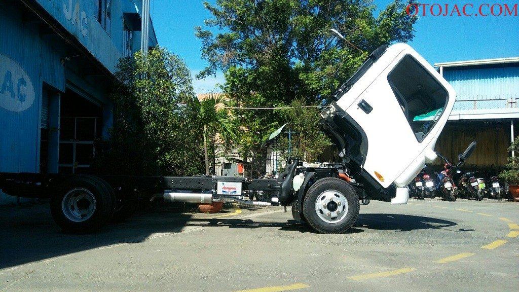chassi xe tải jac 2.35 tấn