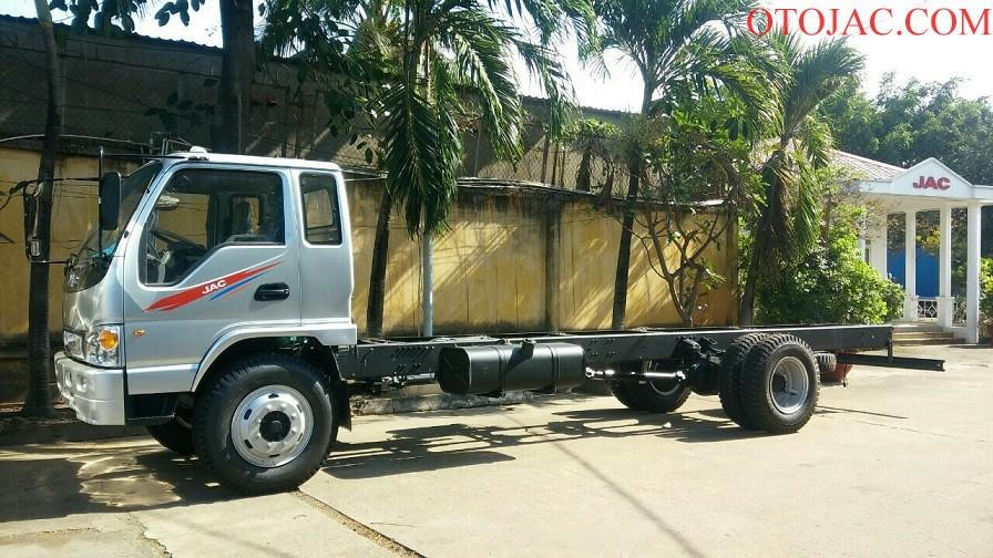 chassi xe tải jac 9.1 tấn