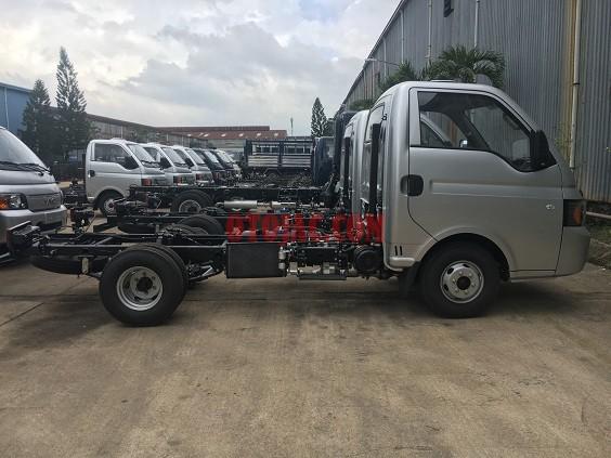 chassi của xe tải jac x125 1.25 tấn XE TAI JAC X125 1.25 TẤN EURO 4 2018