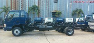 chassi xe tải jac 6.4 tấn