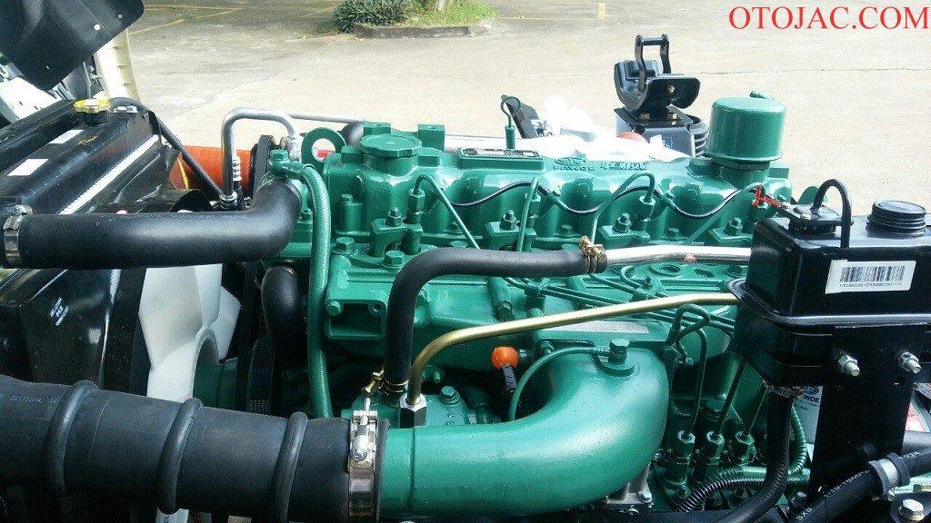 động cơ diesel mạnh mẽ của xe tải jac 7.25 tấn