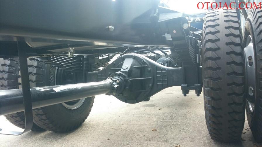 gầm xe tải jac 8.45 tấn XE TẢI JAC 8.45 TẤN HFC1383K1