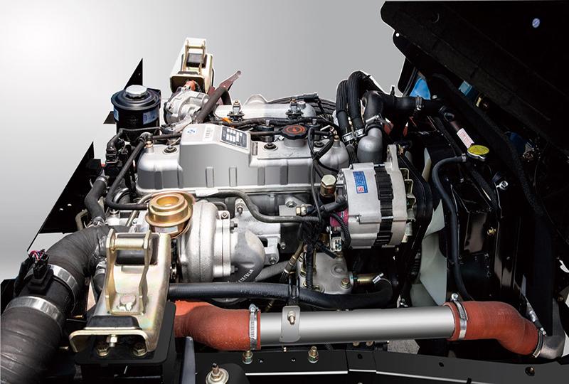 động cơ xe tải jac 1.99 tấn isuzu mạnh mẽ