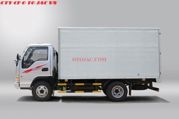 jac 1.25 tấn thùng kín