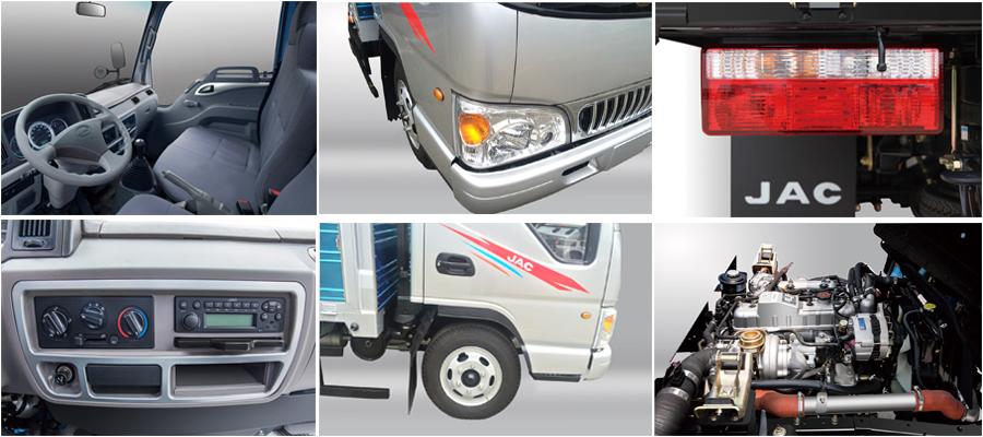 các chi tiết của xe tải jac 2.4 tấn JAC 2.4 TẤN – HFC1030K4