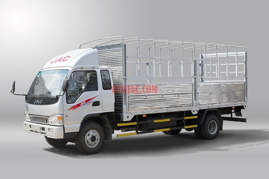 xe tải jac 7.25 tấn thùng mui bạt