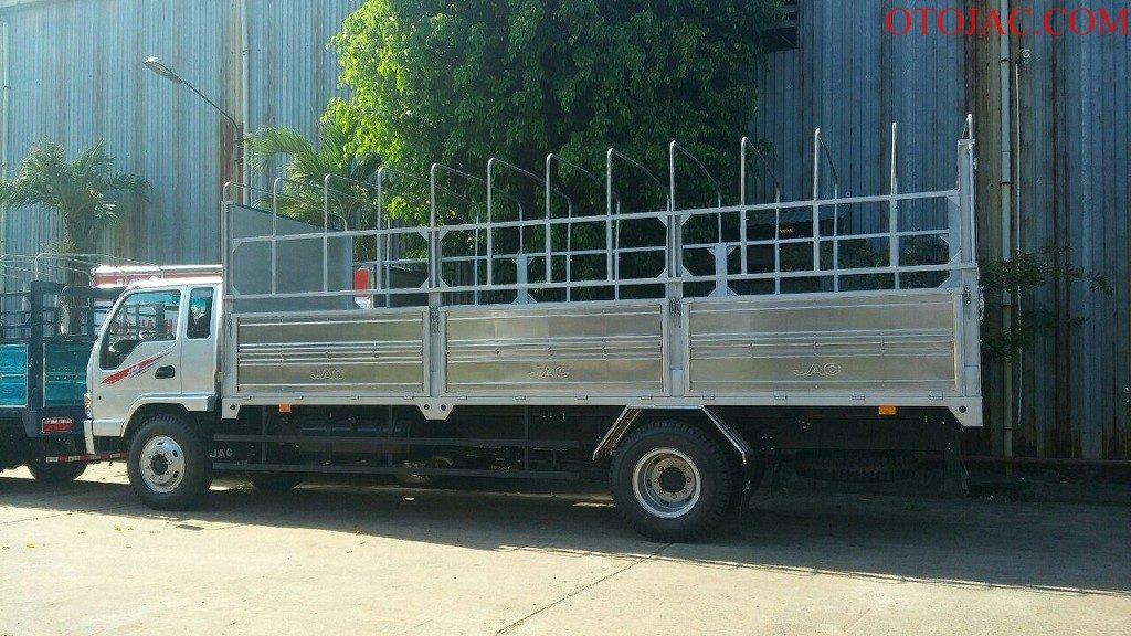 thùng bạt xe tải jac 9.1 tấn