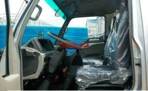 nội thất cabin xe tải jac 5 tân