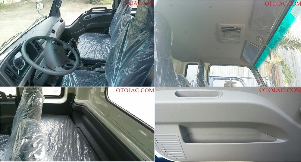 nội thất xe tải jac 8.45 tấn XE TẢI JAC 8.45 TẤN HFC1383K1