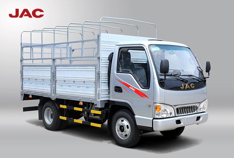 xe tải jac 2.4 tấn màu bạt