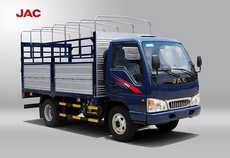 thiết kế bắt mắt của xe tải jac 2.4 tấn