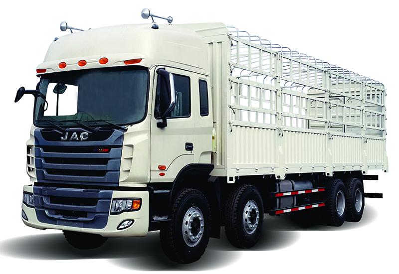 xe tải jac 4 chân gallop XE TẢI JAC 4 CHÂN GALLOP 310Hp HFC1304K1R1LT MỚI TP.HCM