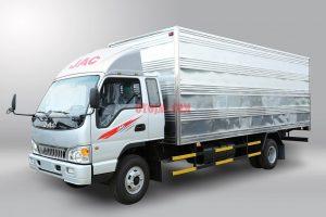 xe tải jac 6.4 tấn thùng kín