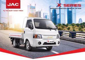 xe tải jac x series Khuyến mãi khủng 100% chi phí giấy tờ khi mua xe tải Euro 4 trong tháng 9
