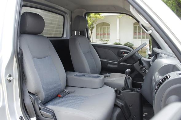 nội thất xe tải jac x series