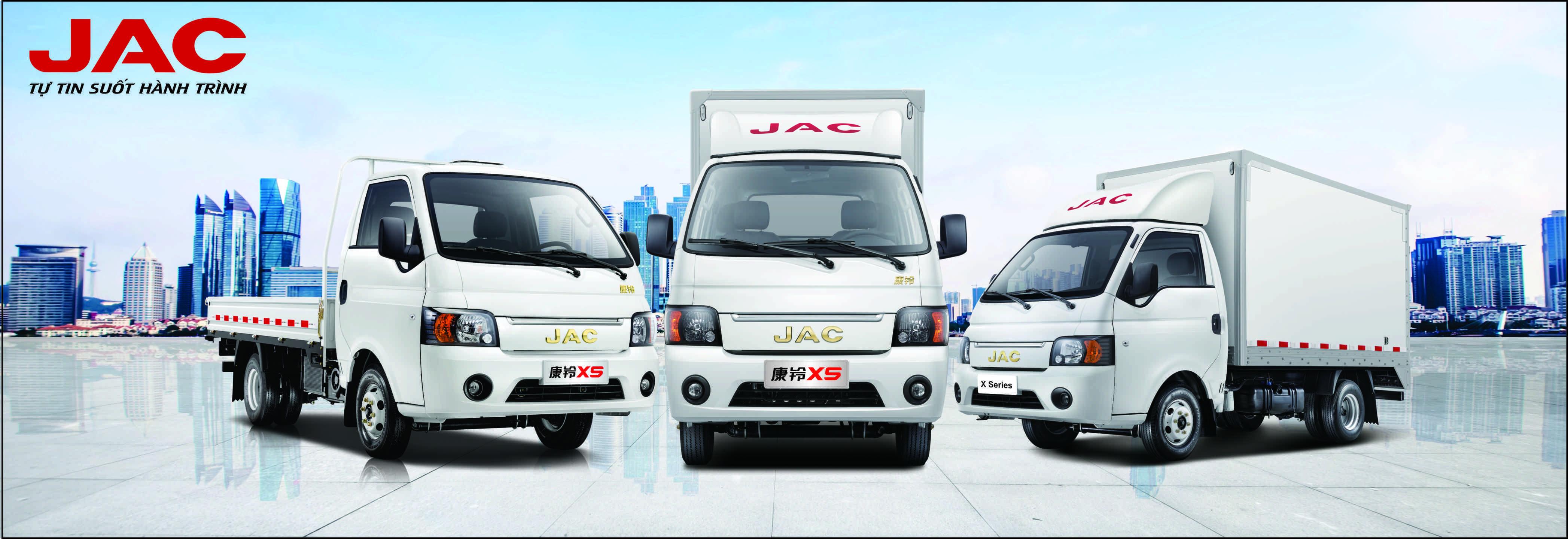 các dòng xe tải Jac X series