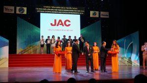 JAC VIỆT NAM TOP 10 THƯƠNG HIỆU DẪN ĐẦU