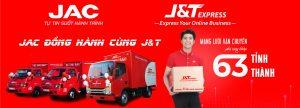 JAC N350 ĐỒNG HÀNH CÙNG J&T EXPRESS