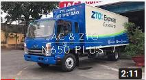 JAC N650 PLUS ĐỒNG HÀNH CÙNG ZTO
