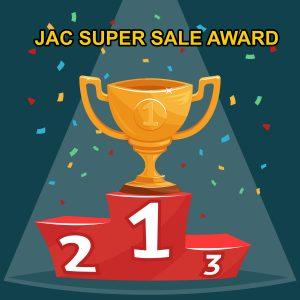 JAC SUPER SALE AWARD
